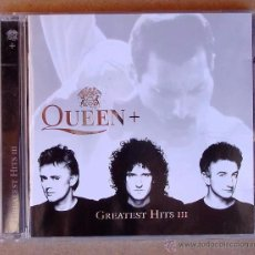 CDs de Música: QUEEN + . GREATEST HITS III (CD) 1999 - 17 TEMAS. Lote 53019036