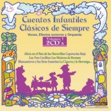 CDs de Música: 2 CDS CUENTOS INFANTILES CLASICOS DE SIEMPRE, VOL 1. Lote 53021039