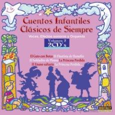 CDs de Música: 2 CDS CUENTOS INFANTILES CLASICOS DE SIEMPRE, VOL 2. Lote 53021056