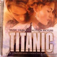 CDs de Música: CD BSO TITANIC. Lote 53024677