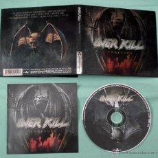 CDs de Música: CD OVERKILL - IRONBOUND. Lote 53025120