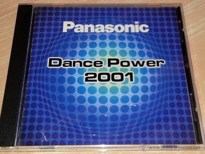 PANASONIC DANCE POWER 2001 - 2001 - VALE MUSIC - CD ALBUM (Música - CD's Disco y Dance)