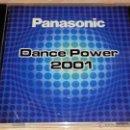 CDs de Música: PANASONIC DANCE POWER 2001 - 2001 - VALE MUSIC - CD ALBUM. Lote 53026203