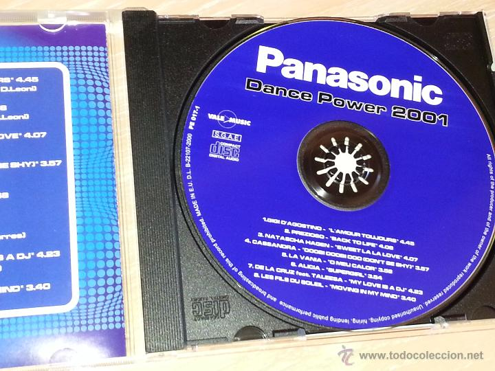 CDs de Música: PANASONIC DANCE POWER 2001 - 2001 - VALE MUSIC - CD ALBUM - Foto 2 - 53026203