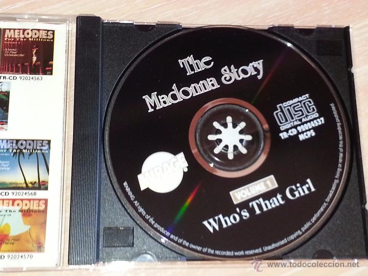 CDs de Música: WHOS THAT GIRL. THE MADONNA STORY - VOLUME 1 - 16 TEMAS INSTRUMENTALES - MIRAGE - CD ALBUM - Foto 2 - 53027190
