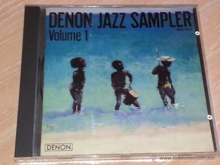 DENON JAZZ SAMPLER VOLUME 1 - NIPPON COLUMBIA JAPÓN -1986 - CD ALBUM - RARO CD (Música - CD's Jazz, Blues, Soul y Gospel)