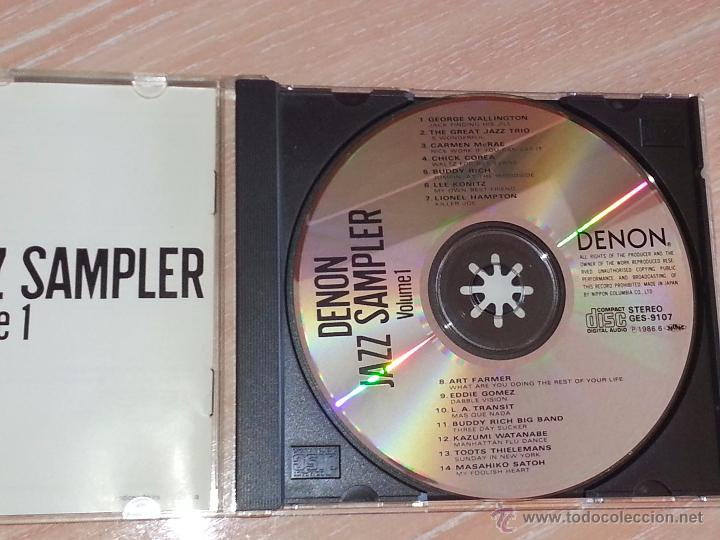 CDs de Música: DENON JAZZ SAMPLER VOLUME 1 - NIPPON COLUMBIA JAPÓN -1986 - CD ALBUM - RARO CD - Foto 2 - 53027265