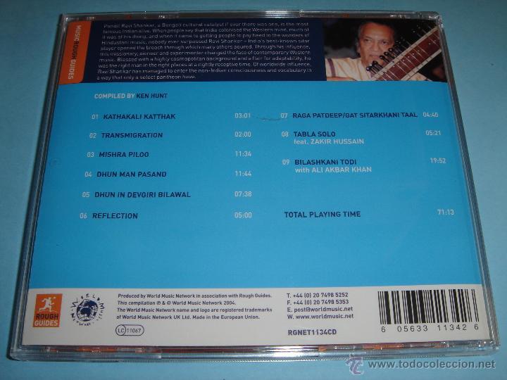 CDs de Música: RAVI SHANKAR / THE ROUGH GUIDE TO (MUSIC ROUGH GUIDES) / CD - Foto 2 - 53030816