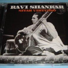 CDs de Música: RAVI SHANKAR / SITAR VIRTUOSO / 2 CD. Lote 53030836