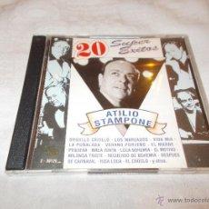 CDs de Música: ATILIO STAMPONE 20 SUPER EXITOS. Lote 53034511