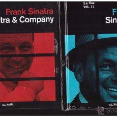 CDs de Música: FRANK SINATRA COLECCIÓN LA VOZ - 20 LIBROS CDS. Lote 53035545