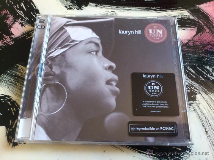 LAURYN HILL - UNPLUGGED MTV - DOBLE CD ALBUM - SONY - 2002 - FUGEES (Música - CD's Reggae)