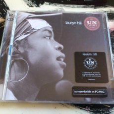 CDs de Música: LAURYN HILL - UNPLUGGED MTV - DOBLE CD ALBUM - SONY - 2002 - FUGEES. Lote 53036266