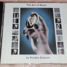 CDs de Música: THE ART OF NOISE - IN VISIBLE SILENCE - 1988 - CHINA RECORDS - CD ALBUM. Lote 53041127