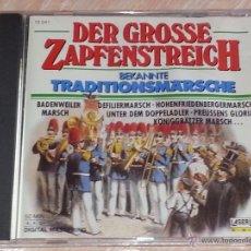 CDs de Música: DER GROSSE ZAPFENSTREICH - TRADITIONSMARSCHE - MARCHAS MILITARES -1988-LASERLIGHT DIGITAL -CD ALBUM. Lote 53044142