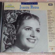 CDs de Música: LO MEJOR DE JUANITA REINA - VIDA COTIDIANA Y CANCIONES - DEL PRADO - 1990 - CD ALBUM. Lote 53045079