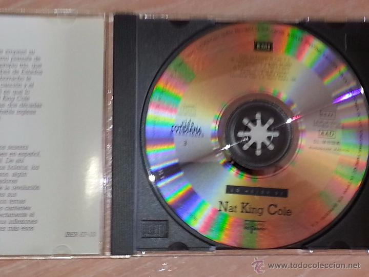CDs de Música: LO MEJOR DE NAT KING COLE - VIDA COTIDIANA Y CANCIONES - DEL PRADO - 1990 - CD ALBUM - Foto 2 - 53045098