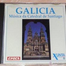 CDs de Música: GALICIA - MÚSICA DA CATEDRAL DE SANTIAGO (1666-1822) - REVISTA ÉPOCA - 1995 - CD ALBUM. Lote 53045831