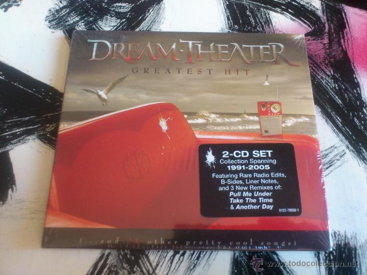 DREAM THEATER - GREATEST HIT - DOBLE CD ALBUM - COLLECTION SPANNING 1991 - 2005 - RHINO - 2008 (Música - CD's Heavy Metal)