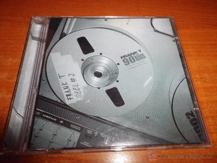 FRANK T 90 KILOS CD ALBUM DEL AÑO 2001 HECHO EN ESPAÑA CONTIENE 19 TEMAS HIP HOP RAP (Música - CD's Hip hop)