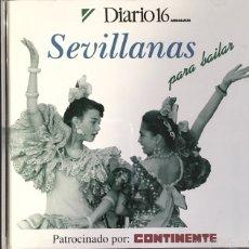 CDs de Música: SEVILLANAS PARA BAILAR. Lote 53055017