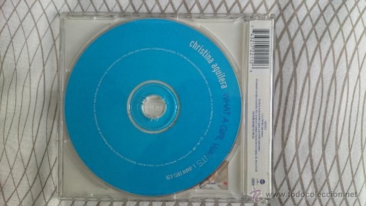 CDs de Música: CD SINGLE PROMO CHRISTINA AGUILERA WHAT A GIRL WANTS - Foto 2 - 53058595