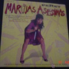 CDs de Música: MARUJAS ASESINAS. PERET. BSO. CD PROMOCIONAL. Lote 53058629
