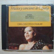 CDs de Música: CD, CD´S - MUSICA CANCIONES ESPAÑA - GRAN DISCOTECA FAMILIAR. Lote 53082670