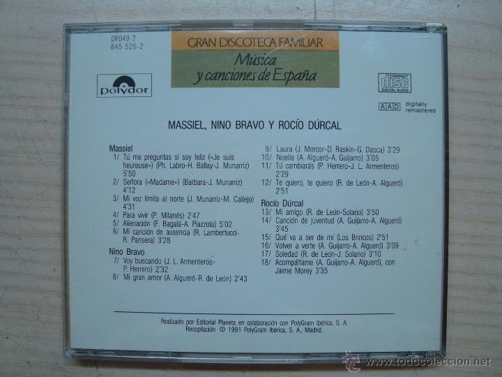 CDs de Música: CD, CD´S - musica canciones españa - gran discoteca familiar - Foto 2 - 53082670