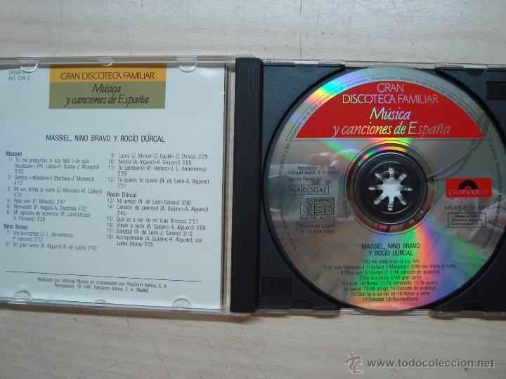 CDs de Música: CD, CD´S - musica canciones españa - gran discoteca familiar - Foto 3 - 53082670