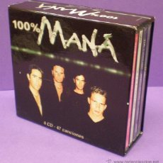 CDs de Música: 100% MANÁ - 4 CDS BOX SET. Lote 53088273