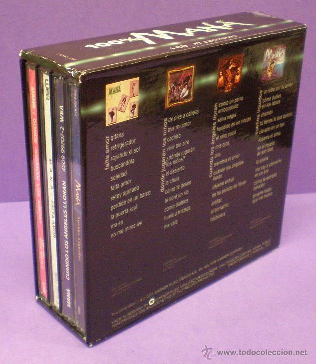 CDs de Música: 100% Maná - 4 CDs Box Set - Foto 3 - 53088273