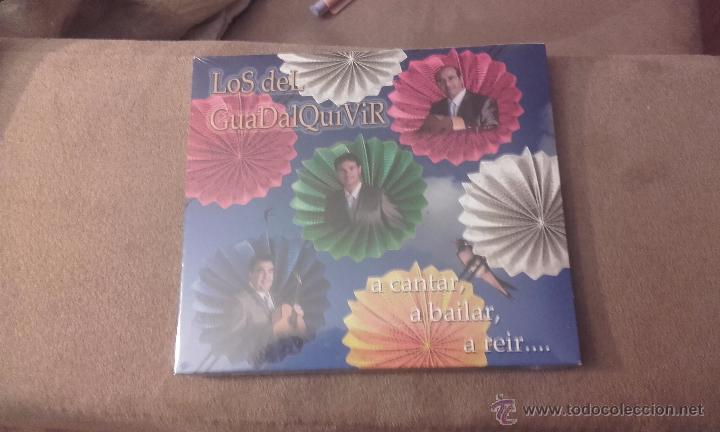CD NUEVO PRECINTADO LOS DEL GUADALQUIVIR A CANTAR, A BAILAR, A REIR (Música - CD's Flamenco, Canción española y Cuplé)