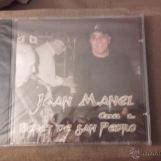 CDs de Música: CD NUEVO PRECINTADO JOAN MANEL CANTA A BONET DE SAN PEDRO EN CATALÁN (JOAN MANUEL ESCOBEDO). Lote 53090903