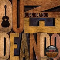 CDs de Música: DUENDEANDO * CD * CAMARÓN * JUAN CARMONA * JOSÉ MERCÉ * MICHEL NYMAN *EL TORTA.... PRECINTADO. Lote 53229453