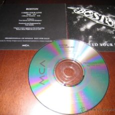CDs de Música: BOSTON - CD - PROMO - I NEED YOUR LOVE - EDIT - WALK ON - HARD ROCK - AOR. Lote 53100632