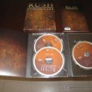 CDs de Música: RUSH - 2 CD + DVD - CHRONICLES - 2112 - MOVING PICTURES - SIGNALS - HEMISPHERES - FLY BY NIGHT. Lote 53102062