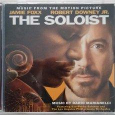CDs de Música: THE SOLOIST - DARIO MARIANELLI - CD OST / BSO / BANDA SONORA / SOUNDTRACK. Lote 53145995