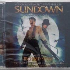 CDs de Música: SUNDOWN - RICHARD STONE - PRECINTADO - CD OST / BSO / BANDA SONORA / SOUNDTRACK. Lote 53146000