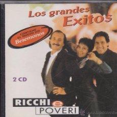 CDs de Música: RICCHI E POVERI - LOS GRANDES ÉXITOS - 2 CDS. RECOPILATORIO EDITADO EN 1994. 20 CANCIONES.. Lote 173112297