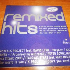 CDs de Música: PETER SCHILLING TERRA TITANIC 2003 REMIXED HITS CD ALBUM PROMO ESPAÑA ITALO ALL STARS NICK KAMEN. Lote 53165925