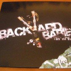 CDs de Música: BACKYARD BABIES TINNITUS PLUS LIVE IN PARIS 2CD 2005. Lote 53178041