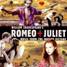 CDs de Música: CD ROMEO + JULIET WILLIAM SHAKESPEARE. Lote 53185354