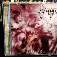 CD di Musica: AZMODAN - EVIL OBSCURITY. Lote 53207288