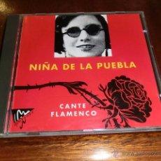 CDs de Música: NIÑA DE LA PUEBLA - CANTE FLAMENCO - 14 TEMAS . Lote 53222415