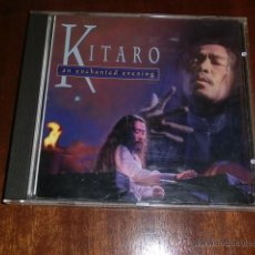 CDs de Música: KITARO - AN ENCHANTED EVENING - 8 TEMAS. Lote 53223784