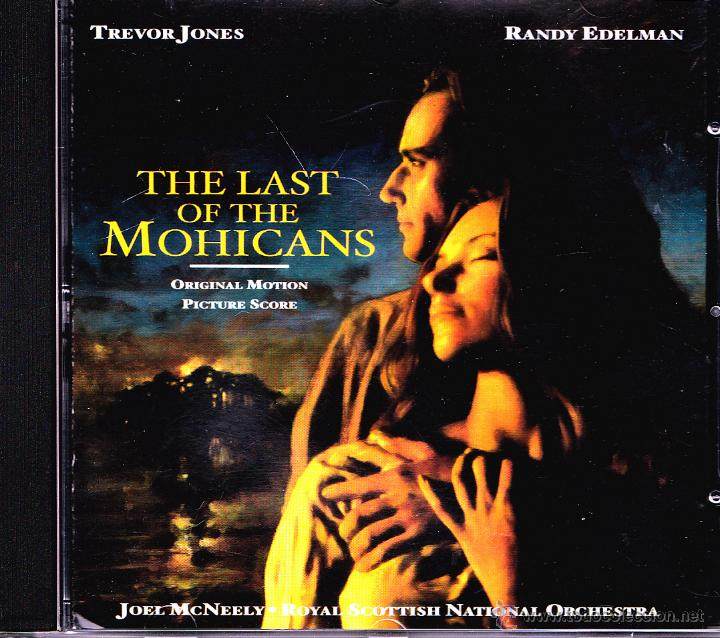 BSO THE LAST OF THE MOHICANS CD ALBUM 2000 (GERMANY) (Música - CD's Bandas Sonoras)