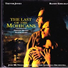 CDs de Música: BSO THE LAST OF THE MOHICANS CD ALBUM 2000 (GERMANY). Lote 53236399