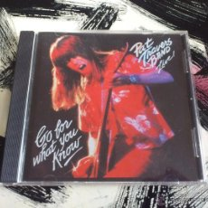 CDs de Música: PAT TRAVERS BAND - LIVE! - GO FOR WHAT YOU KNOW - CD ALBUM - POLYGRAM - 1979. Lote 53238540