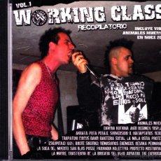 CDs de Música: WORKING CLASS VOLUMEN 1-ANIMALES MUERTOS + ESKUPITAJO + LA BRIGADA DEL VIZIO + DISPLASIA + AKRATA +. Lote 53249944